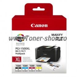 Cartus cerneala Canon PGI-1500XL B/C/M/Y