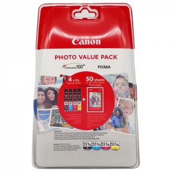 Cartus cerneala Canon CLI-551XL C/M/Y/BK