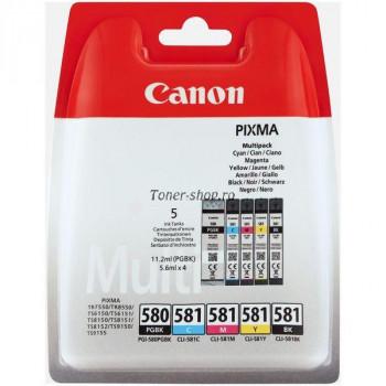 Canon PGI-580 / CLI-581 PGBK / C / M / Y / BK